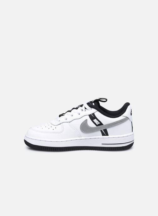 Baskets Nike Force 1 Lv8 Ksa (Ps) Blanc vue face