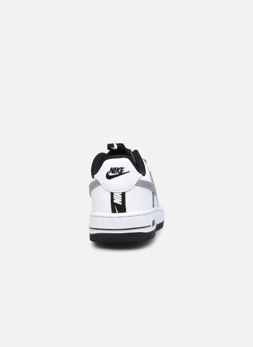Baskets Nike Force 1 Lv8 Ksa (Ps) Blanc vue droite