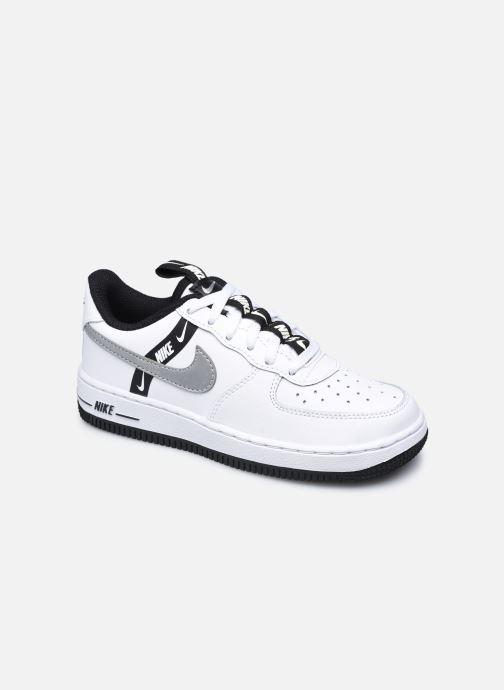 Baskets Nike Force 1 Lv8 Ksa (Ps) Blanc vue détail/paire