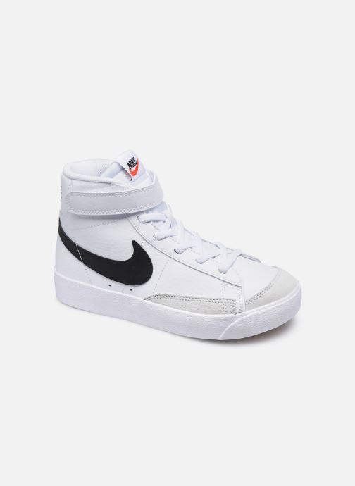 Baskets Nike Nike Blazer Mid '77 (Ps) Blanc vue détail/paire