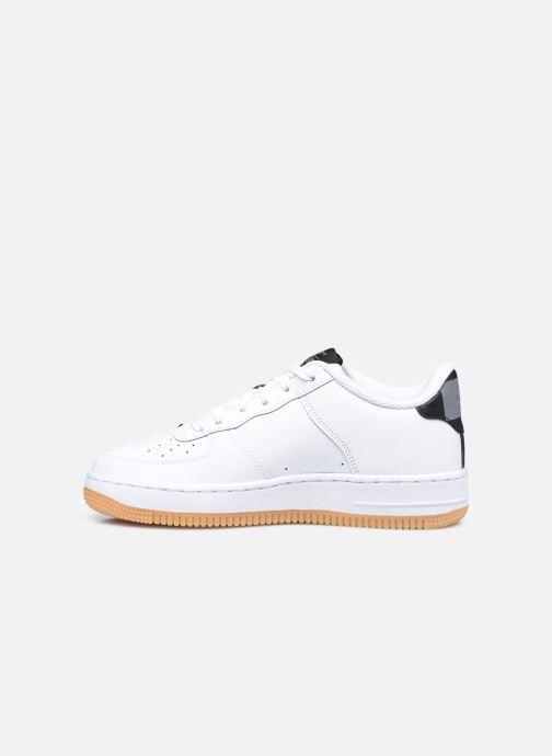 Baskets Nike Air Force 1 Lv8 1 Ho20 (Gs) Blanc vue face