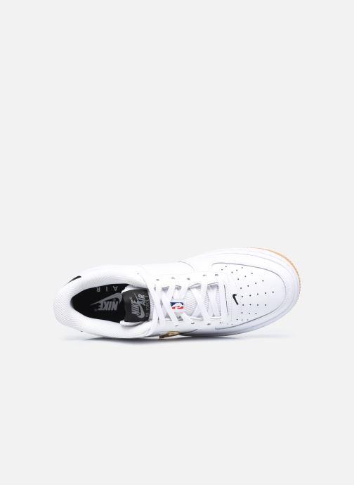 Baskets Nike Air Force 1 Lv8 1 Ho20 (Gs) Blanc vue gauche