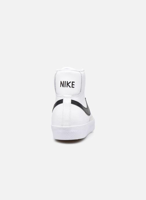 Baskets Nike Nike Blazer Mid '77 (Gs) Blanc vue droite