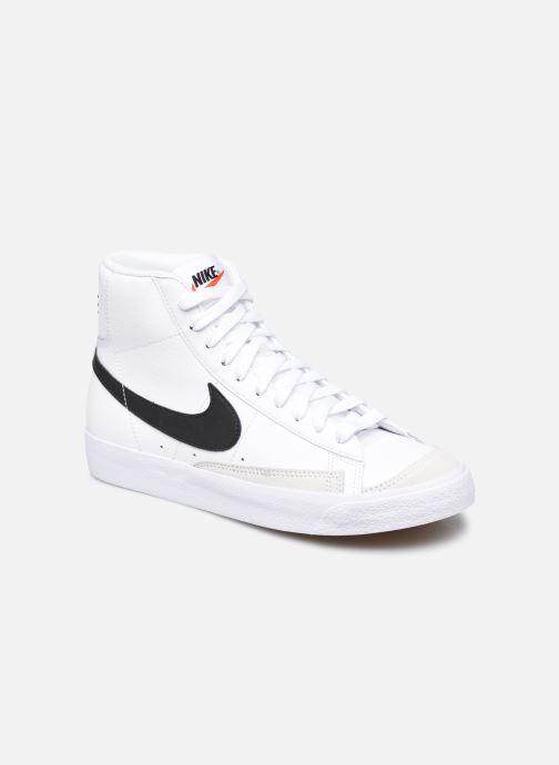 Baskets Nike Nike Blazer Mid '77 (Gs) Blanc vue détail/paire