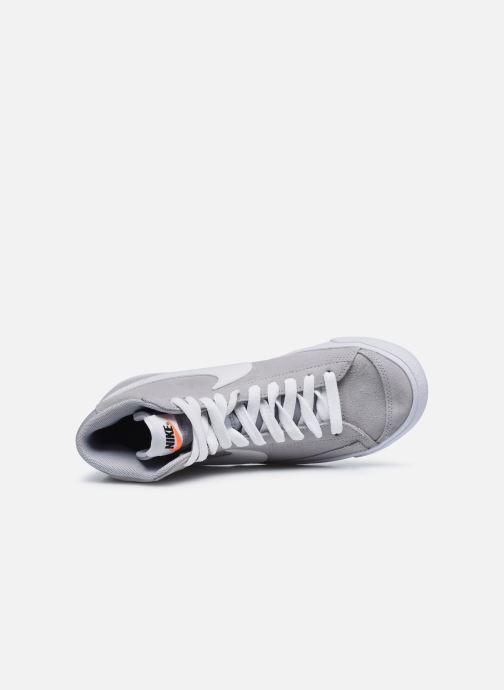Sneaker Nike Nike Blazer Mid '77 Suede (Gs) grau ansicht von links