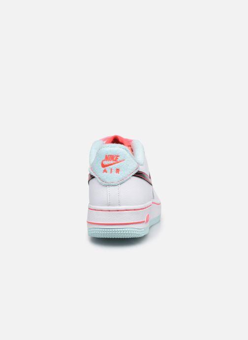 Sneaker Nike Nike Air Force 1 '07 Lv8 Gs weiß ansicht von rechts