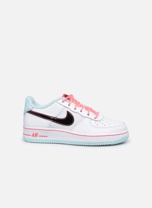 Sneaker Nike Nike Air Force 1 '07 Lv8 Gs weiß ansicht von hinten
