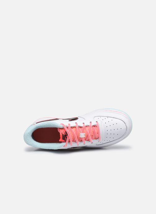 Sneaker Nike Nike Air Force 1 '07 Lv8 Gs weiß ansicht von links