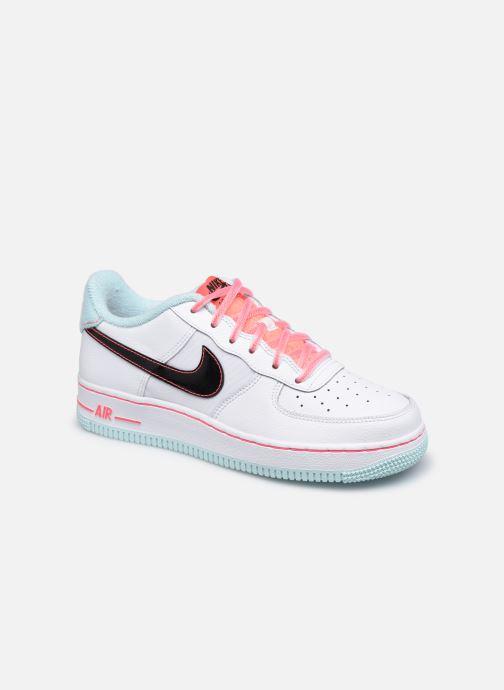 Sneaker Nike Nike Air Force 1 '07 Lv8 Gs weiß detaillierte ansicht/modell
