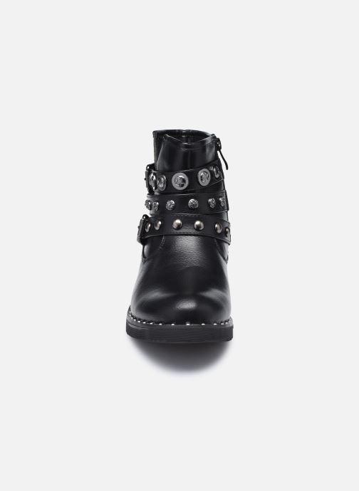 Bottines et boots Initiale Paris Rosny Noir vue portées chaussures