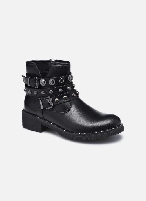 Ankelstøvler Initiale Paris Rosny Sort detaljeret billede af skoene