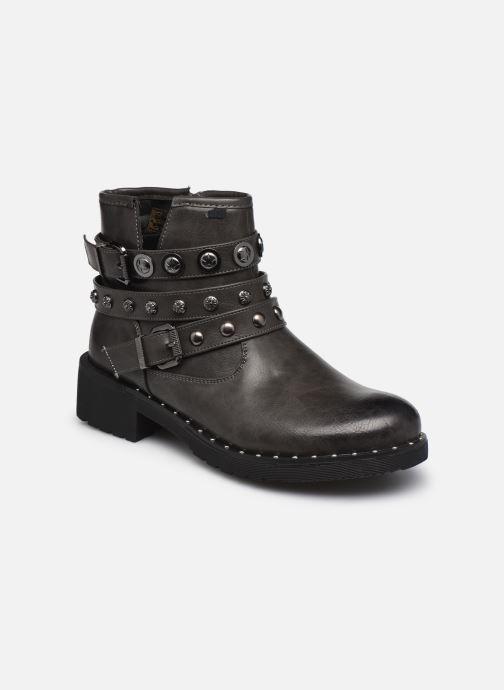 Ankelstøvler Initiale Paris Rosny Grå detaljeret billede af skoene