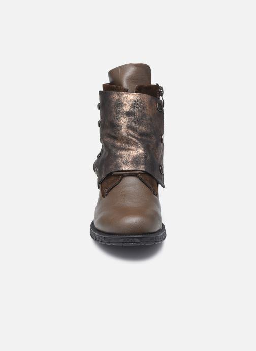 Ankelstøvler Initiale Paris Sundly Brun se skoene på