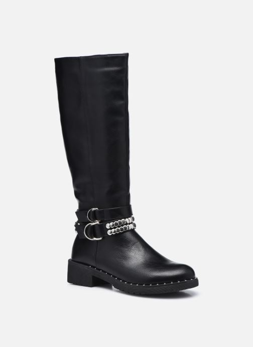Støvler & gummistøvler Initiale Paris Telma Sort detaljeret billede af skoene