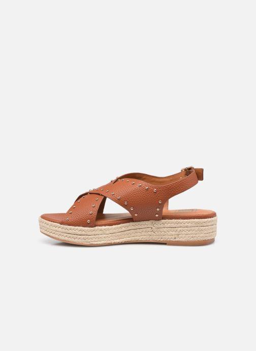 Espadrilles I Love Shoes DORIS Bruin voorkant