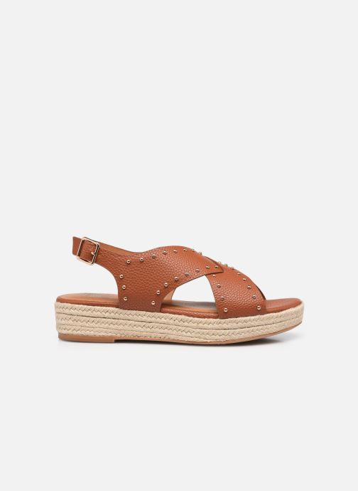 Espadrilles I Love Shoes DORIS Bruin achterkant