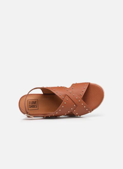 Espadrilles I Love Shoes DORIS Bruin links