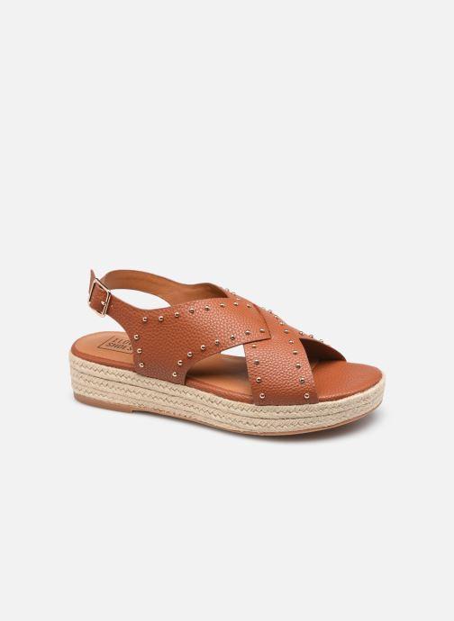 Espadrilles I Love Shoes DORIS Bruin detail