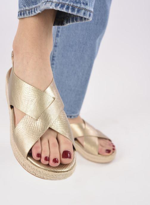 Espadrilles I Love Shoes DORIS Goud en brons onder