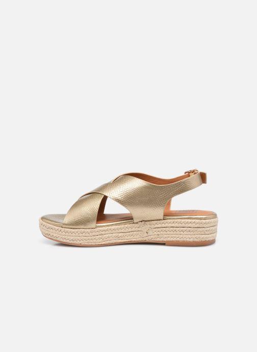 Espadrilles I Love Shoes DORIS Goud en brons voorkant