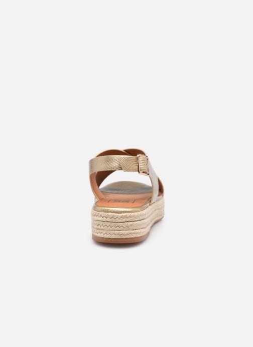 Espadrilles I Love Shoes DORIS Goud en brons rechts