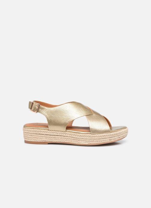 Espadrilles I Love Shoes DORIS Goud en brons achterkant
