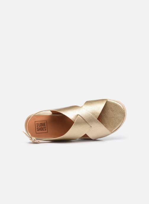 Espadrilles I Love Shoes DORIS Goud en brons links