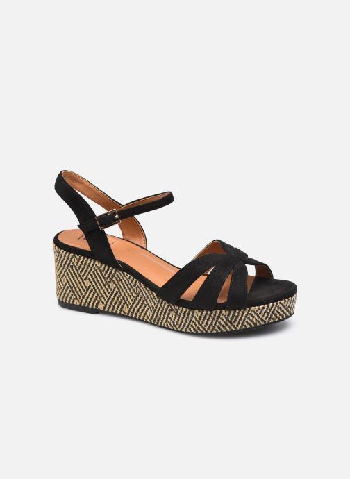 Espadrilles I Love Shoes DANIELLE Zwart detail
