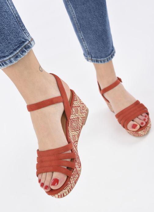 Espadrilles I Love Shoes DAPHNE Oranje onder