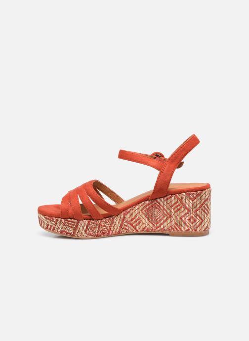 Espadrilles I Love Shoes DAPHNE Oranje voorkant