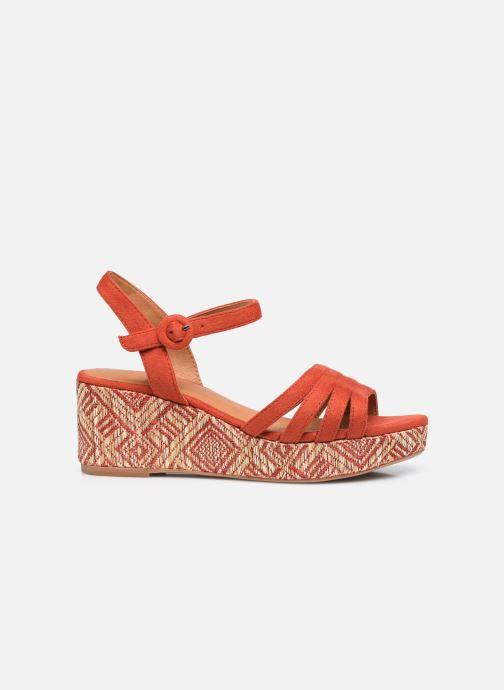 Espadrilles I Love Shoes DAPHNE Oranje achterkant