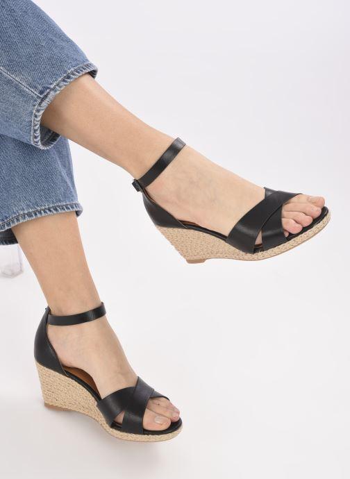 Espadrilles I Love Shoes DOVE Noir vue bas / vue portée sac