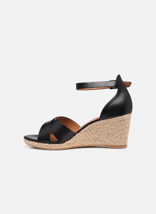 Espadrilles I Love Shoes DOVE Noir vue face
