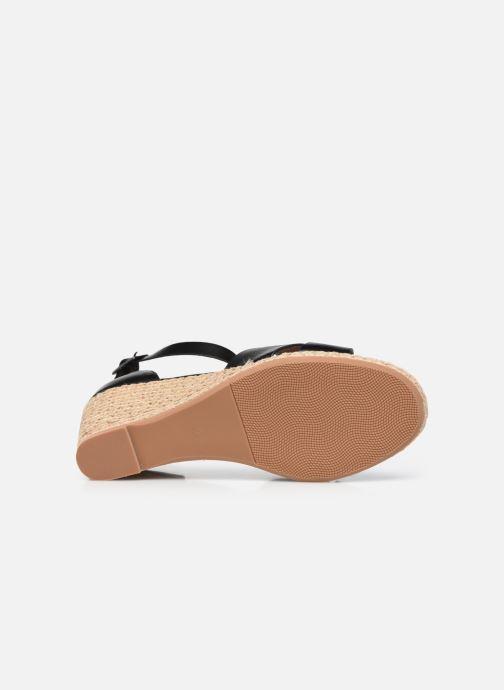 Espadrilles I Love Shoes DOVE Noir vue haut