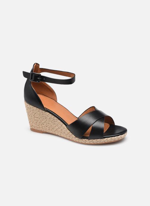 Espadrilles I Love Shoes DOVE Noir vue détail/paire