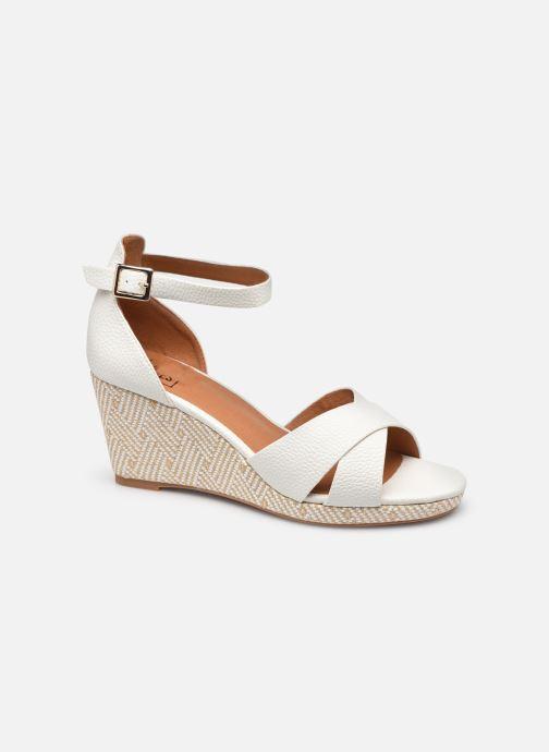 Espadrilles I Love Shoes DOVE Blanc vue détail/paire