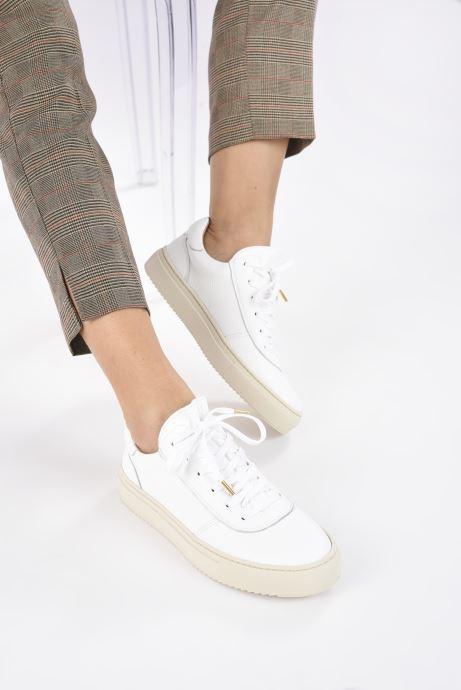 Sneaker Minelli F51 701 weiß ansicht von unten / tasche getragen