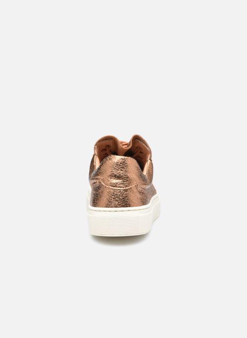 Sneaker Minelli F51 701/MET gold/bronze ansicht von rechts
