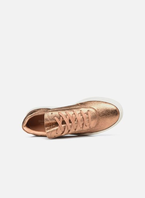 Sneaker Minelli F51 701/MET gold/bronze ansicht von links