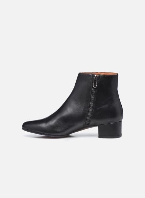 Stiefeletten & Boots Minelli F60 524 schwarz ansicht von vorne