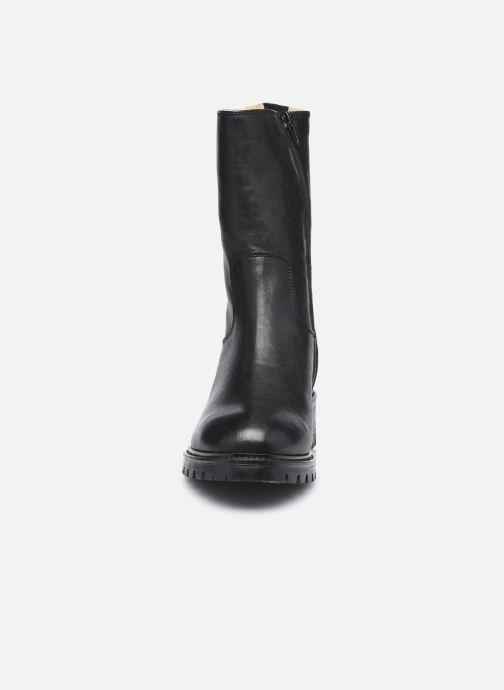 Stiefeletten & Boots Minelli F60 751 schwarz schuhe getragen