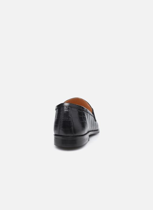 Mocasines Minelli F61 354/IMP Negro vista lateral derecha