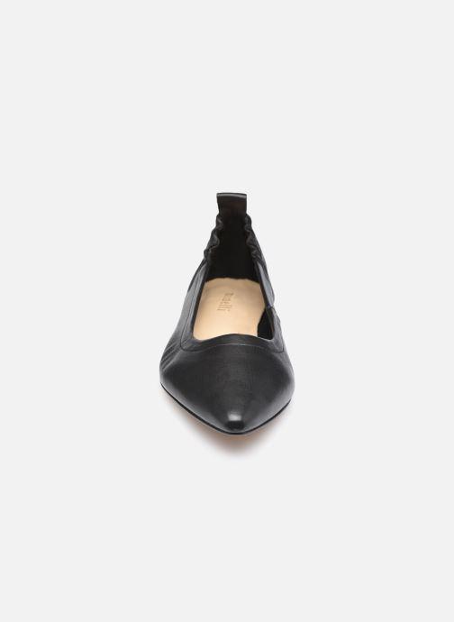 Ballerinas Minelli F61 442 schwarz schuhe getragen