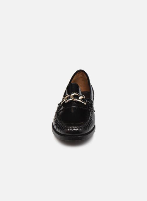 Mocasines Minelli F61 719 Negro vista del modelo