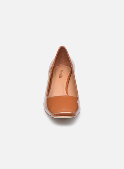 Zapatos de tacón Minelli F91 704/VER Marrón vista del modelo