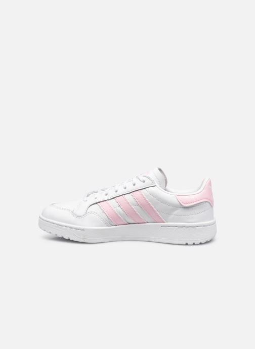 Sneaker adidas originals Team Court W weiß ansicht von vorne