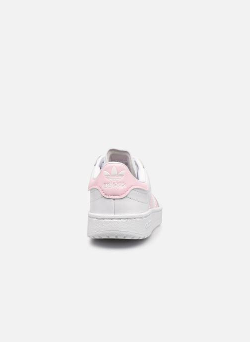 Sneaker adidas originals Team Court W weiß ansicht von rechts