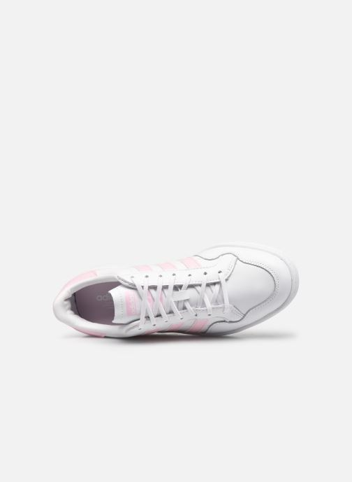 Sneaker adidas originals Team Court W weiß ansicht von links