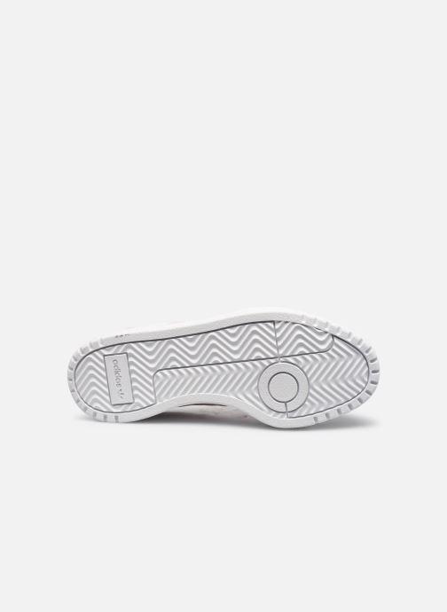Sneaker adidas originals Team Court W weiß ansicht von oben
