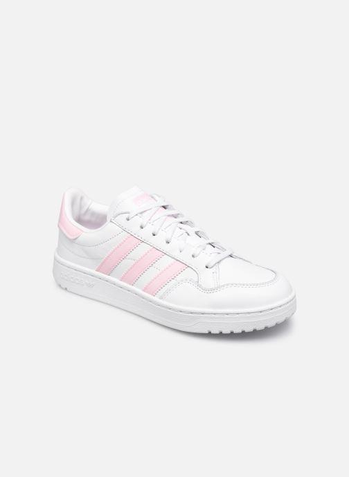 Sneaker adidas originals Team Court W weiß detaillierte ansicht/modell